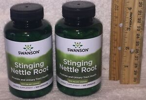 TWO Stinging Nettle Root, from Swanson.  200 capsules (total), 500 mg each