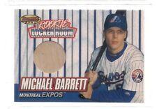 MICHAEL BARRETT ROOKIE BAT CARD 1999 BOWMANS BEST BASEBALL