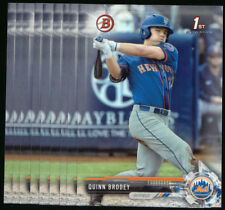 (10) 2017 Bowman Draft QUINN BRODEY Lot Mets #BD-24 QTY Available