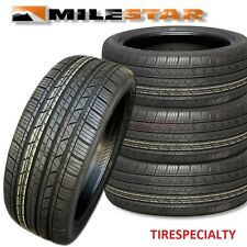 4 New 185 65 14 Milestar MS932 Sport Tires 86T SL 185/65R14 1856514