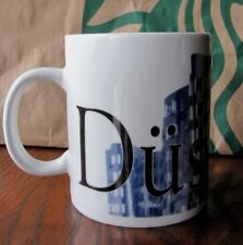 Starbucks City Mug Collector Series Dusseldorf Germany Blue 16 oz