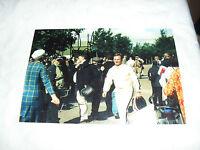 6 x 4 HAND SIGNED PHOTO - F1 RED BULL - CHRISTIAN HORNER - GOODWOOD