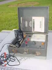 Vintage Mercury Electronic 800 Crt Picture Tv Tube Tester Reactivator Television
