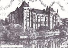 Alain Maillard Saint Pierre de Solesmes Abbey Postcard Unused VGC