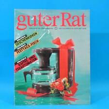 Guter Rat 4-1989 Verlag für die Frau DDR Farbfernseher Color 40 Römertopf WC A