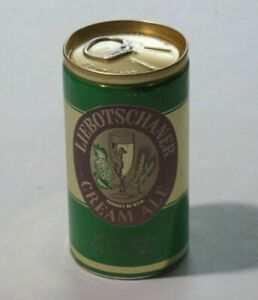 LIEBOTSCHANER CREAM ALE Beer Can 12 Oz Pull Tab Lion Inc Wilkes-Barre, PA