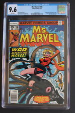 MS. MARVEL #16 1st cameo Raven Darkholme MYSTIQUE 1978 X-Men movies CGC NM+ 9.6