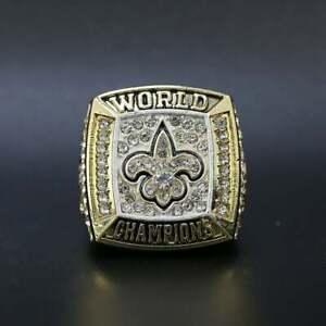 2010 New Orleans Saints Drew Brees Super Bowl Football Championship Ring