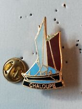 Pin's Pins Chaloupe voilier bateau boat sailing ship