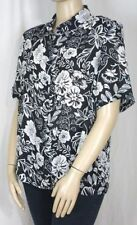 Millers Short Sleeve Floral Plus Size Tops & Blouses for Women