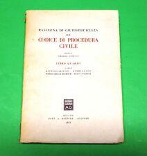 Rassegna di Giurisprudenza sul Codice di Procedura Civile - Ed. Giuffrè 1955