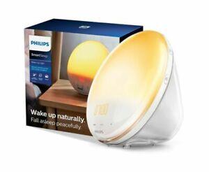 NEW Philips SmartSleep Wake Up Light Colored Sunrise Sunset Simulation HF3520/60