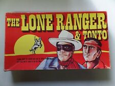 Vintage The Lone Ranger & Tonto Board Game Warren Paper Products 1978 Complete