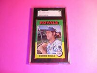 1975 Topps #169 Cookie Rojas,  Graded MINT SGC 9 (96),  Royals,