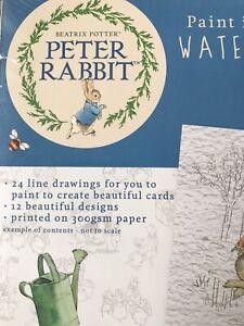 New Peter Rabbit  Watercolour Paper Paper Pad. 300gsm x 24 Sheets