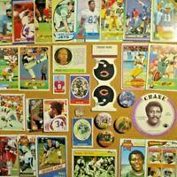 1968/69/70's+ NFL Lot**Bart Starr/Gale Sayers/Mean Joe Greene/Staubach/Hornung++