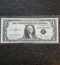 1935-D $1 DOLLAR BILL UNITED STATES NOTE..SILVER CERTIFICATE ..FR1613N..UNC