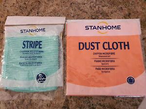 LOT 2 CHIFFONS MICROFIBRE SALLE DE BAIN ET POUSSIERE  - STANHOME - NEUF