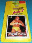 Booster Classic WWF Wrestling Trading Cards *WRESTLEMANIA SERIES 2* 1990 NEU wwe
