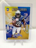 2015 PANINI ROOKIES & STARS MELVIN GORDON CRUSADE ROOKIE CARD CHARGERS
