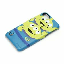 iJacket Hard Case with card pocket for iPhone7 Disney Alien/Face PG-DCS170LGM