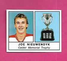 1988-89 PANINI # 404 FLAMES JOE NIEUWENDYK ROOKIE  STICKER CARD (INV# D1095)