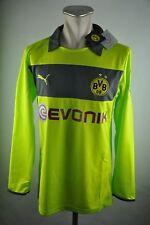 Borussia Dortmund Trikot Gr. L Torwart Puma Jersey BVB LS Evonik grün