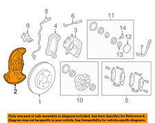 MERCEDES OEM 10-14 E350 Front Brake-Backing Splash Dust Shield Plate 2044202544