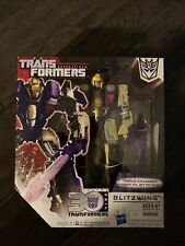 TRANSFORMERS Generations Thrilling 30 Voyager Class Blitzwing Triple Changer