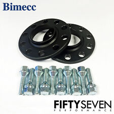 Bimecc 12mm Black Hubcentric Wheel Spacers & Wheel Bolts BMW Z8 E52 00-03