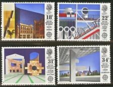 Gb Mnh Scott 1176-1179, 1987 Europa Buildings, set of 4