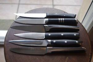 Lot de 6 couteaux de table Lion Sabatier; neuf. Old Knife.
