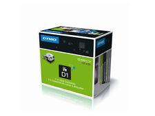 SINGOLO NASTRO DYMO D1 12mm X 7Mt. Nero / Blu cod. S0720560/450160