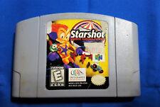 Nintendo 64 N64 STARSHOT Space Circus Fever Game Pak