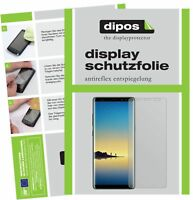 2x Samsung Galaxy Note 8 Film de protection d'écran protecteur antireflet dipos