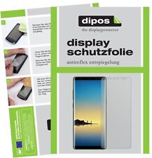 2x Samsung Galaxy Note 8 Schutzfolie matt Displayschutzfolie Folie Display