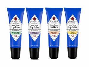 Jack Black Intense Therapy Lip Balm SPF 25 - CHOOSE YOUR FLAVOR - New & Fresh