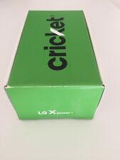 LG X Power - 16GB - Black Cricket Smartphone