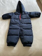 BNWOT BABY BOYS BLUE STRIPE ZIP UP FLEECE AGES 0-6 AND 6-12 MONTHS ONLY