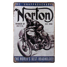 20x30cm Vintage Metal Tin Sign Plaque Wall Art Poster Cafe Bar Pub Motor #1