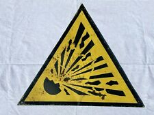 Vintage Blechschilder Warnschilder Konvolut UdSSR DDR Retro Alt Schild Verbot