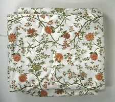 Laura Ashley Fabric 100% Cotton 3 Yards Printed 46 In ? VTG 1983 Chintz Floral