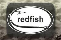Redfish Fishing Sticker Hook Decal