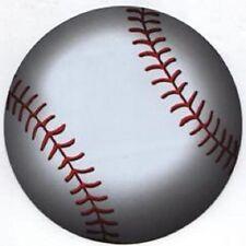 "Baseball Magnets * Large 5 1/2"" Round * Perfect for Car, Fridge, Locker"