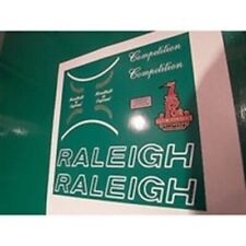 Raleigh Competition decal set.
