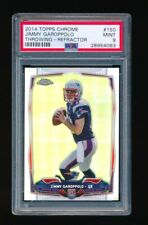 PSA 9  JIMMY GAROPPOLO 2014 TOPPS CHROME THROWING #150 REFRACTOR RC ROOKIE 4063