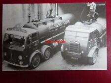 POSTCARD LEYLAND AND FODEN TANKERS AT BULMERS CIDER