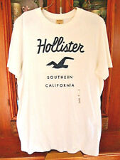 """HOLLISTER and COMPANY TEE SHIRT """"Southern Calif"""" 100% Cotton XL, New with Tags"""