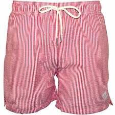 Gant Seersucker Swim Shorts, Mineral Red
