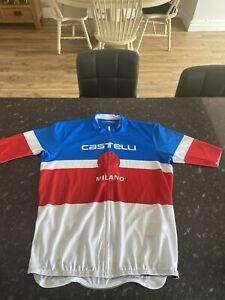 Castelli Milano Short Sleeved Jersey XXL